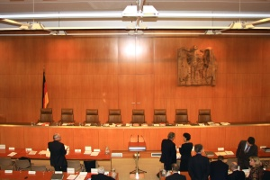 Sitzungssaal des Bundesverfassungsgericht