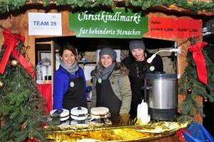Bude auf dem Christkindlmarkt Mönchengladbach