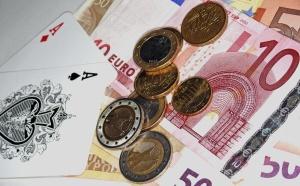 Geld und Spielkarten