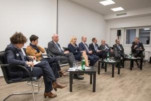 Teilnehmer des Podiums Politisches Fachgespräch