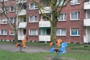 Wohnblock in Duisburg