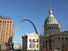Gateway-Arch in St. Louis, Missouri