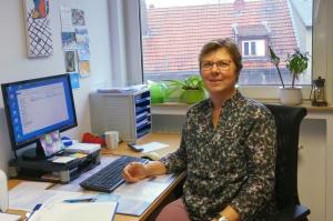 Petra Grunwald-Drobner ist eine der wenigen Krebsberaterinnen, die es in NRW gibt. (Foto: Diakonie Paderborn-Höxter)