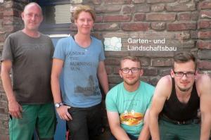 Gruppenbild Landschaftsgärtner