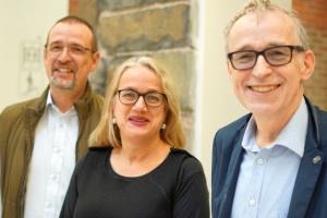Crhistian Dopheide, Barbara Montag und Eberhard Hauschildt