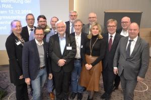 Einige der Mitglieder des neuen Verwaltungsrats der Diakonie RWL.