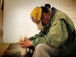 Armut hat viele Gesichter. Viele arme Menschen schämen sich dafür, arm zu sein. (Foto: Pixabay)