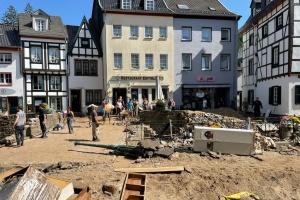 Zerstörte Innenstadt von Bad Münstereifel (Foto: pixabay)