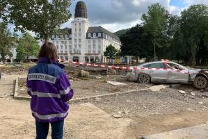 Notfallseelsorgerin in Bad Neuenahr (Foto Iven/ekir)