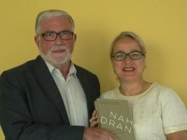 """Neue Buchvorstellung """"Nah dran"""" von Prof. Dr. Gerhard K. Schäfer und Pfarrerin Barbara Montag"""