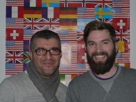 Portrait Hicham Yessef und Eike Leidgens