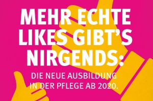 Plakat zur Kampagne