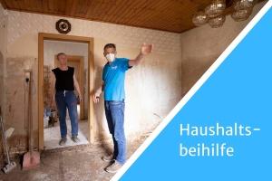 Mittelfristige Hilfen: Privatpersonen erhalten Unterstützung beim Kauf von Möbeln und Haushaltsgeräten.
