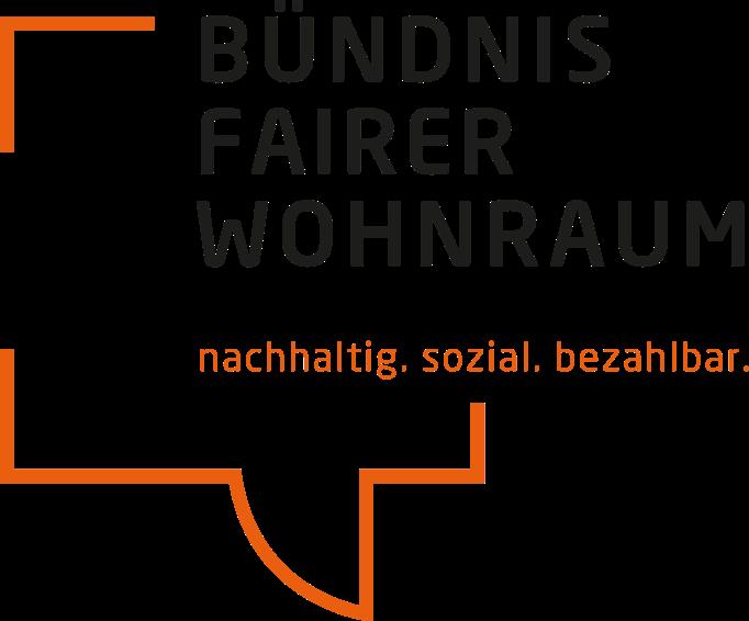 Bündnis fairer Wohnraum Logo