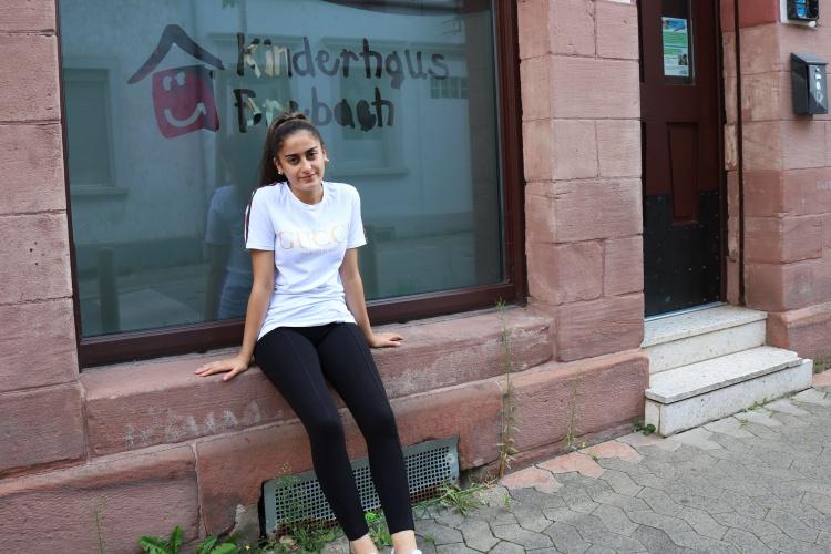 Wie ein zweites Zuhause: Yasemin Danisman fühlt sich wohl im Kinderhaus Brebach.
