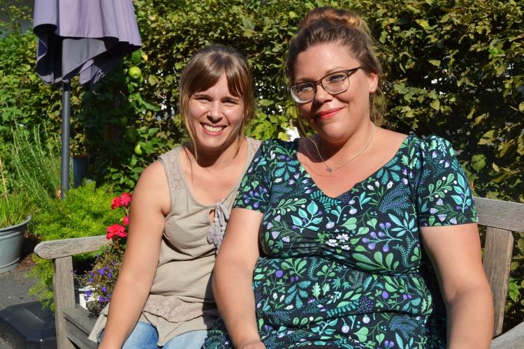 Steffi Forster und Sara Urselmans sind beste Freundinnen.
