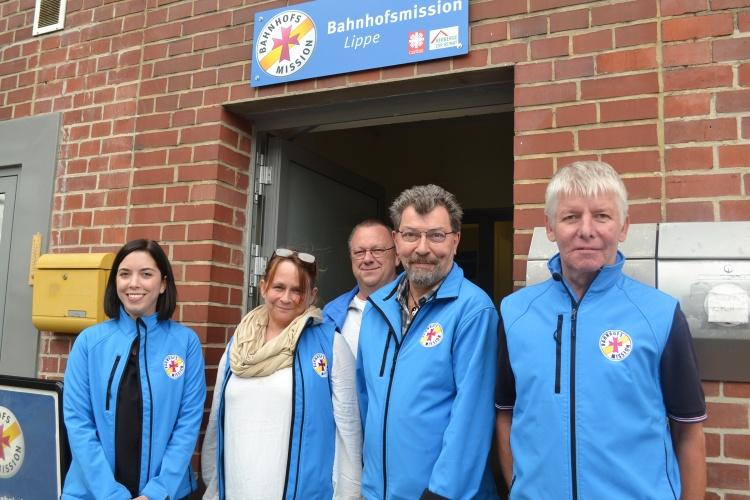 Mehr Mobilität und Selbstvertrauen: Darum geht es Jovanna Rinsche (v. links), Stefanie Ternes, Frank Budde, Thomas Samse und Thorsten Strunk.
