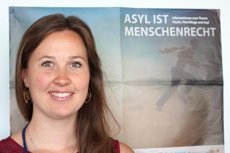 Abschiebungsbeobachterin Elena Vorlaender