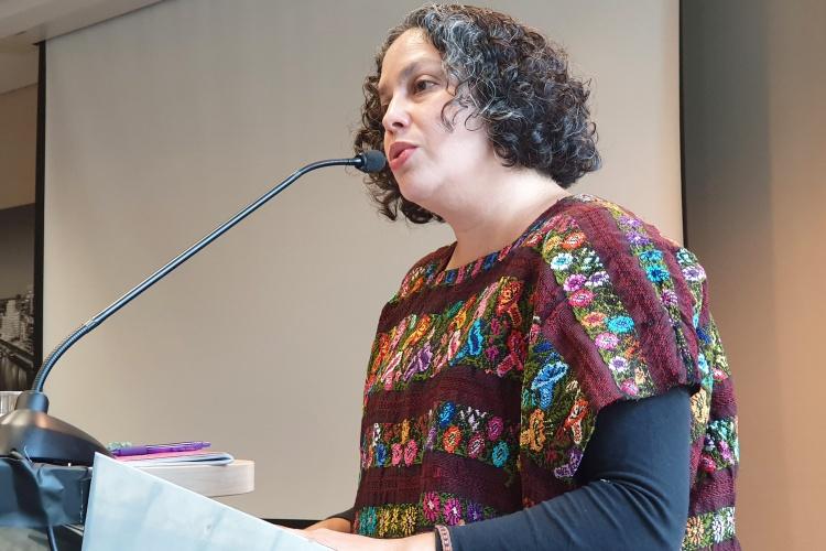 Marusia Lopez Cruz von der Organisation JASS-Meso