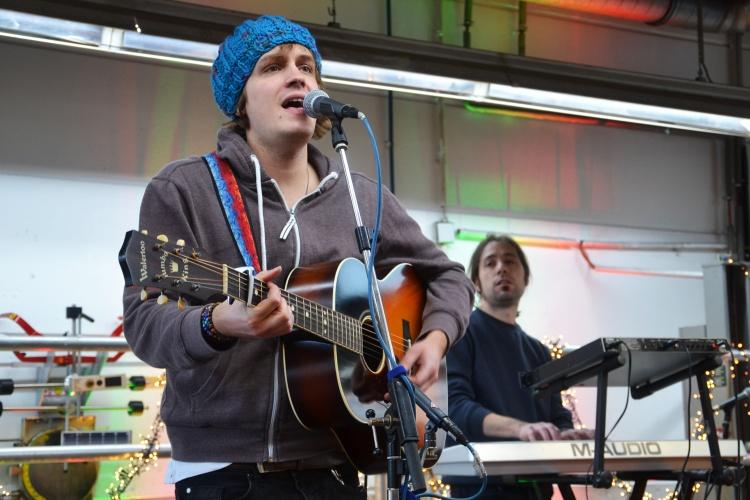 Max Goedecke & Band sorgten für musikalische Unterhaltung.