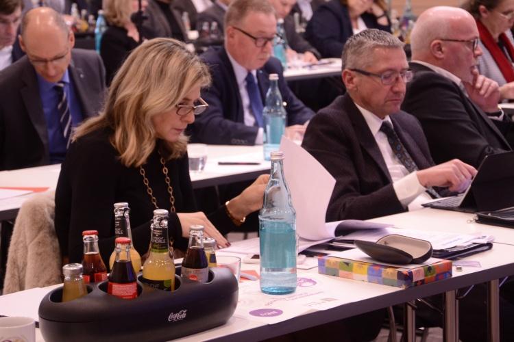 Die Delegierten auf der Hauptversammlung der Diakonie RWL wählten die zehn neuen Mitglieder des Verwaltungsrats.