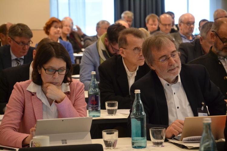 Die Hauptversammlung der Diakonie RWL in den Dortmunder Westfalenhallen.