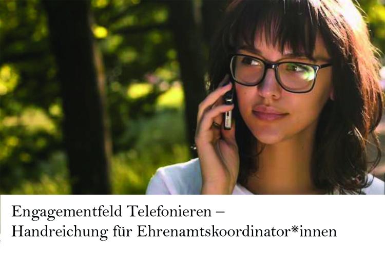 Titelbild der Diakonie RWL-Handreichung zum Telefonieren