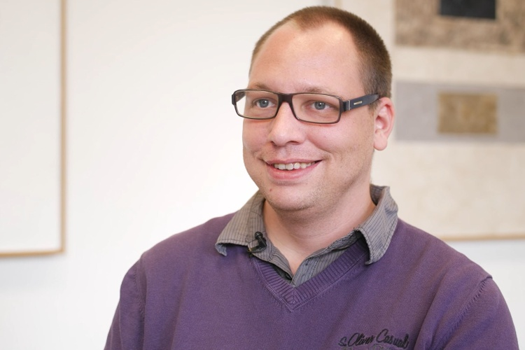 Für andere da sein: Paul Moll arbeitet seit zehn Jahren als Werkstattrat in der Evangelischen Stiftung Hephata.