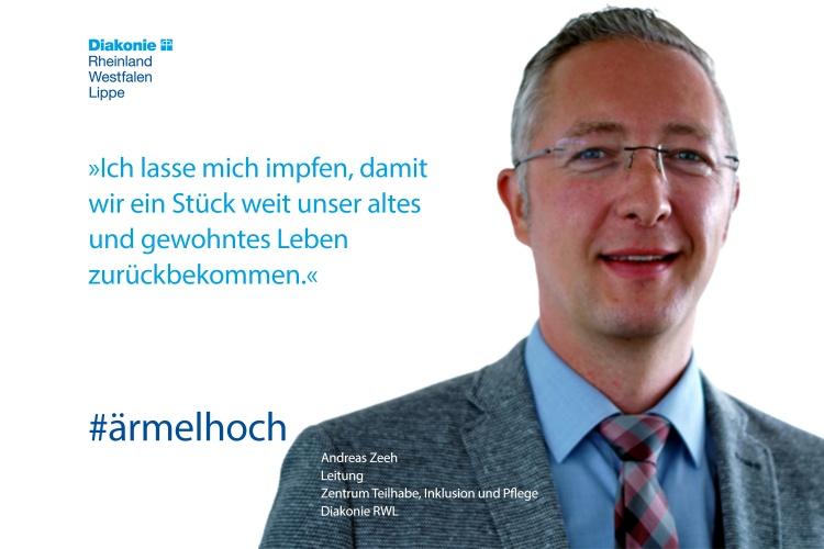 Andreas Zeeh, Leiter des Diakonie RWL-Zentrums für Pflege