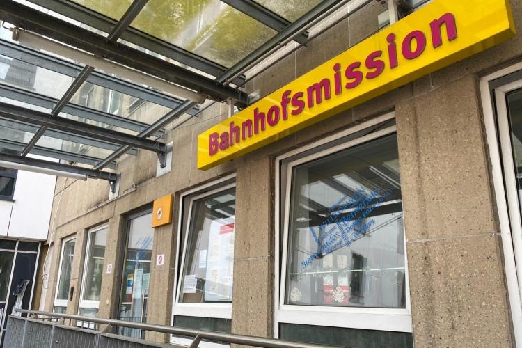 Gebäude der Bahnhofsmission Essen (Foto: Bahnhofsmission Essen)