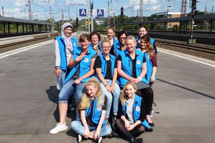 Team der Bahnhofsmission Essen (Foto: Bahnhofsmission Essen)