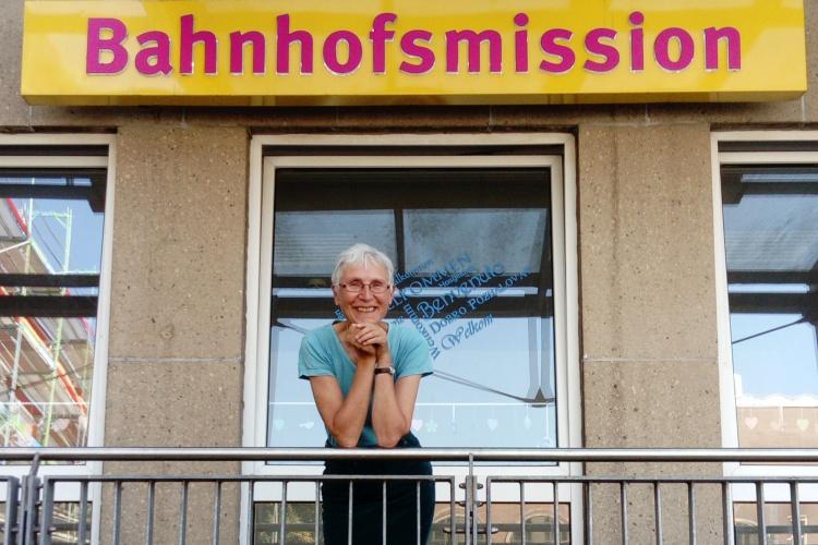 Die Bahnhofsmission ist wie eine Familie, sagt Diakonie RWL-Referentin Karen Sommer-Loeffen.