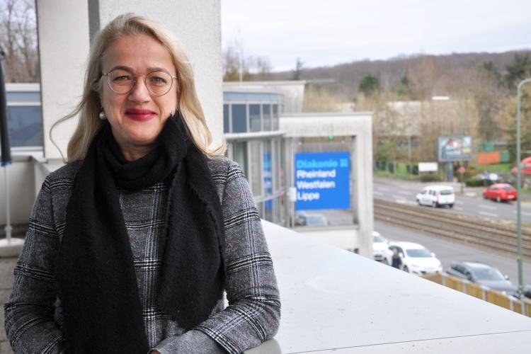 Pastorin Barbara Montag ist bei der Diakonie RWL für das Thema Seelsorge zuständig