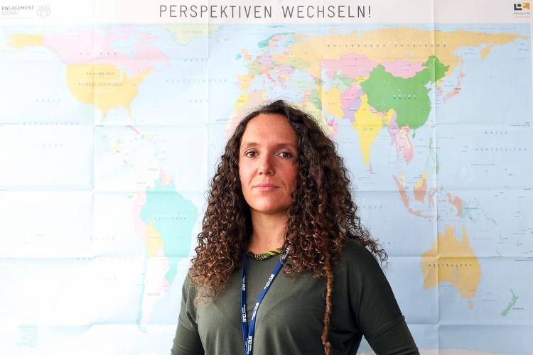 Abschiebungsbeobachterin Dalia Höhne
