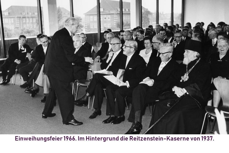 Einweihungsfeier 1966