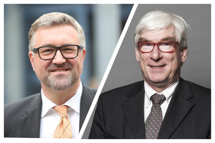 Christian Heine-Göttelmann und Thomas Oelkers