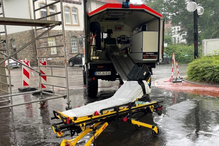 Rettungsliege der Johanniter (Foto: Johanniter NRW)