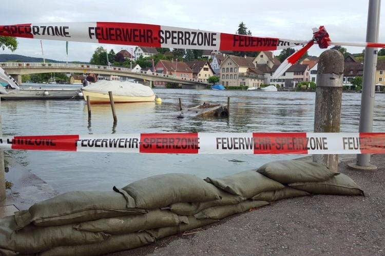 Hochwasser am Rhein (Foto: pixabay)