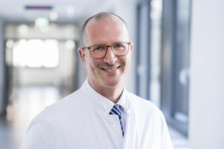 Dr. Olaf Boehm, Leiter der Intensivmedizin im Ev. Krankenhaus Düsseldorf (Foto EVK)