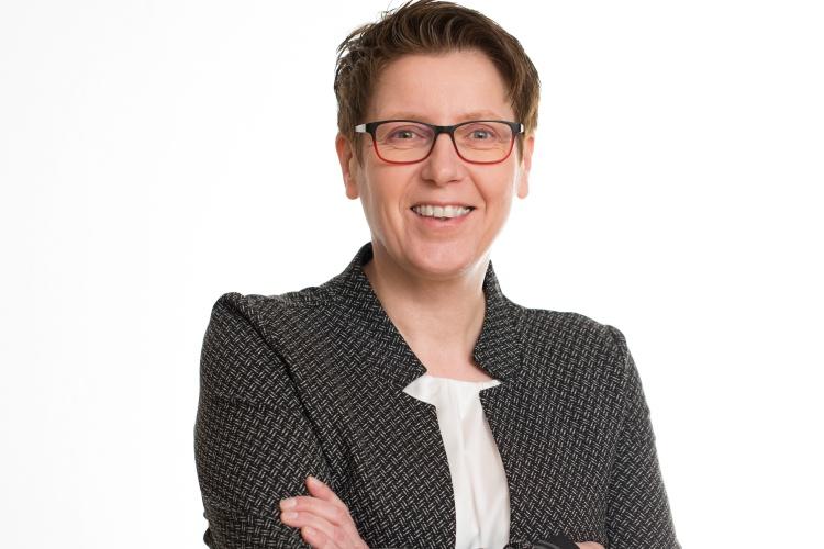 Die Pflegedirektorin des Evangelischen Luisenhospitals Claudia Kuhnen.