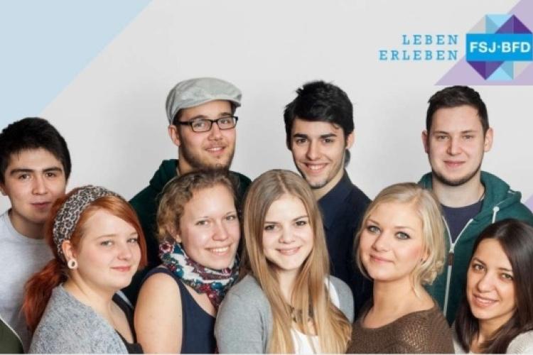 Kampagnenfoto des Zentrums Freiwilligendienste