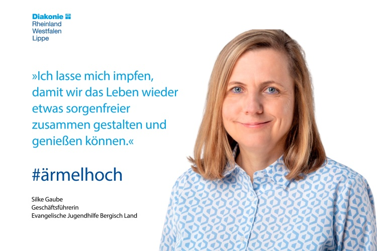 Silke Gaube von der Evangelischen Jugendhilfe Bergisch Land