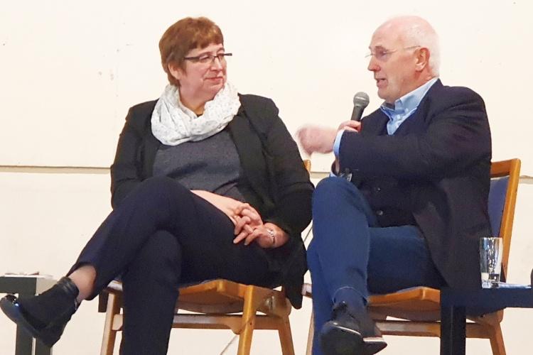 Sozialpolitischer Aschermittwoch der Kirchen in Essen mit Helga Siemens-Weibring und Stadtforscher Klaus Selle