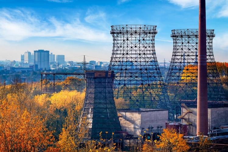 Blick auf die Zeche Zollverein in Essen (Foto: Funke Mediengruppe)