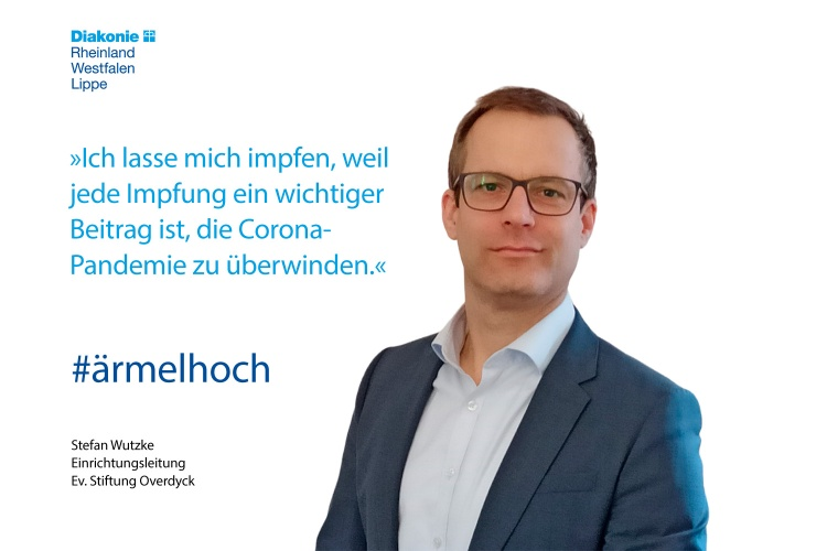 Stefan Wutzke von der Ev. Stiftung Overdyck