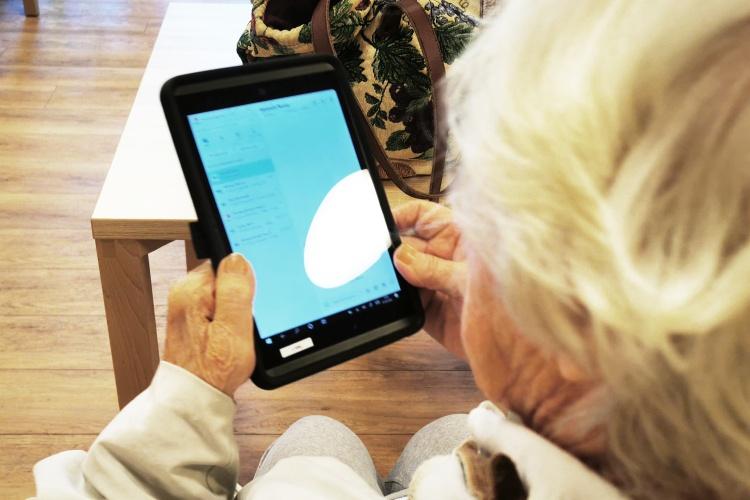 Digitalisierung im Altenheim